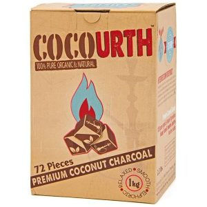 Cocourth Coconut Charcoal 72pcs
