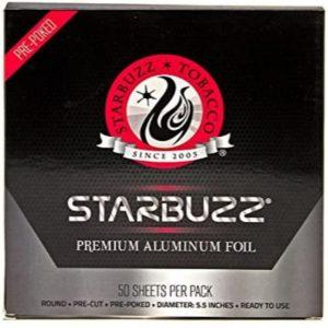 Starbuzz Puched Hookah Foil