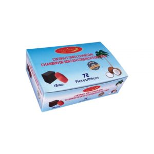 Starlight Coconut Shell Charcoal Cubes 72 Pieces