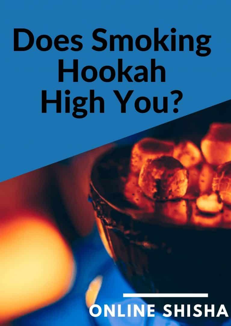 Hookah Get You High? – Myth Or Fact