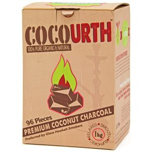 Cocourth Coconut Charcoal 96 pcs