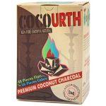 CocoUrth Organic Coconut Charcoal (84 Pieces – Split Box)