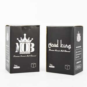 MOB Cloud King Coconut Charcoal (72 Pieces – Cubes)